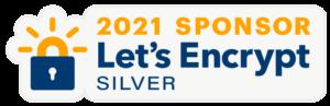Let's Encrypt Silver Sponsor 2021