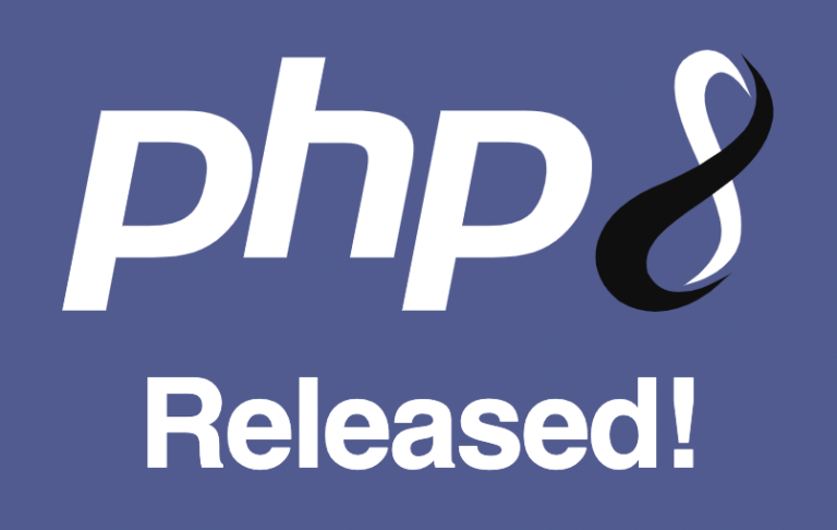 PHP 8 released!